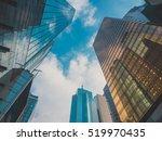 skyscraper buildings and sky... | Shutterstock . vector #519970435