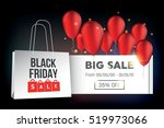 abstract vector black friday... | Shutterstock .eps vector #519973066
