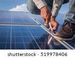 engineer working on checking... | Shutterstock . vector #519978406