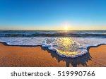early morning  sunrise over sea.   Shutterstock . vector #519990766