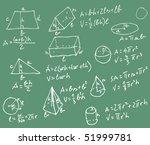 vector blackboard with... | Shutterstock .eps vector #51999781