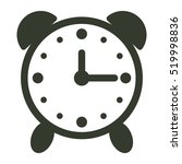alarm clock icon illustration...