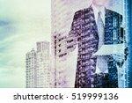 digital business revolution... | Shutterstock . vector #519999136