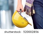 worker in a construction site | Shutterstock . vector #520002856
