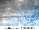 magic blue holiday abstract... | Shutterstock . vector #520008862