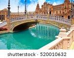 seville sevilla plaza de espana ... | Shutterstock . vector #520010632