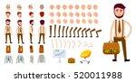 businessman character creation... | Shutterstock .eps vector #520011988