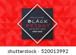 black friday sale inscription... | Shutterstock .eps vector #520013992