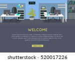 welcome vector concept. flat...