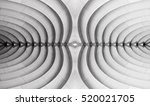 reworked abstract architecture... | Shutterstock . vector #520021705