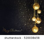 christmas background | Shutterstock . vector #520038658