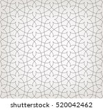 abstract geometric pattern with ... | Shutterstock .eps vector #520042462