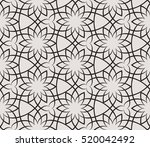 stylish seamless pattern.... | Shutterstock .eps vector #520042492