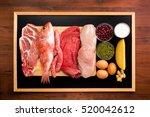 protein diet | Shutterstock . vector #520042612