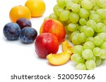detox diet food   healthy... | Shutterstock . vector #520050766