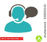 operator message eps vector... | Shutterstock .eps vector #520053142
