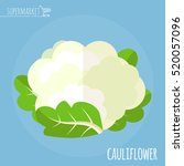 Cauliflower. Long Shadow Flat...