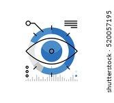 modern vector icon of business...   Shutterstock .eps vector #520057195