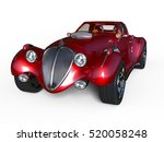 3d cg rendering of a sports car | Shutterstock . vector #520058248