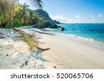 anse source d'argent beach  la...   Shutterstock . vector #520065706