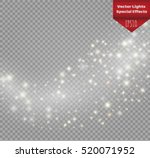 magic light vector effect. glow ... | Shutterstock .eps vector #520071952
