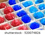 Small photo of vitriol mineral collection as nice natural background