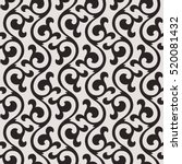 linear seamless pattern.... | Shutterstock .eps vector #520081432