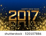 vector 2017 background with... | Shutterstock .eps vector #520107886