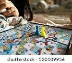 puzzle game board | Shutterstock . vector #520109956