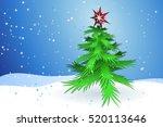 christmas tree | Shutterstock .eps vector #520113646