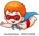 vector illustration of cartoon... | Shutterstock .eps vector #520114336