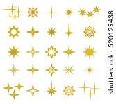 vector illustration of golden... | Shutterstock .eps vector #520129438