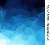 blue polygonal mosaic... | Shutterstock .eps vector #520129702