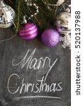 christmas ornaments  decoration | Shutterstock . vector #520137988
