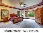 master bedroom interior with... | Shutterstock . vector #520145026