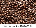 a coffee mug of coffee beans | Shutterstock . vector #520148596