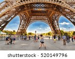 paris  france   07 july 2016 ... | Shutterstock . vector #520149796