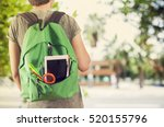 young student man in campus | Shutterstock . vector #520155796
