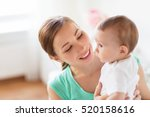 family  child and parenthood... | Shutterstock . vector #520158616
