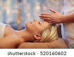 people  beauty  spa  healthy... | Shutterstock . vector #520160602