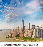 Helicopter View Lower Manhattan A - Fine Art prints