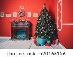 Beautiful Christmas Living Roo...