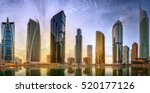 Panoramic View Of Dubai Marina...