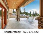 luxury multi level home... | Shutterstock . vector #520178422