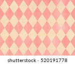 watercolor light pink and beige ... | Shutterstock . vector #520191778