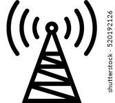 radio station icon | Shutterstock .eps vector #520192126
