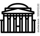 pantheon icon | Shutterstock .eps vector #520192132