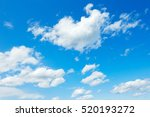 landscape of the clear sky  | Shutterstock . vector #520193272