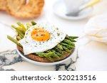 italian food  friselli with... | Shutterstock . vector #520213516
