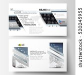 business templates in hd format ... | Shutterstock .eps vector #520245955